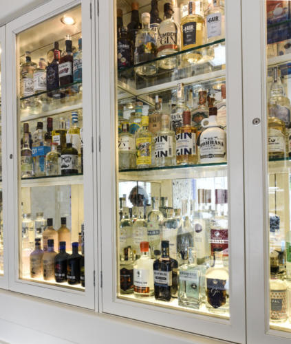 Over 500 Types of Gin to choose from at Hyde Bar & Gin Parlour Galway